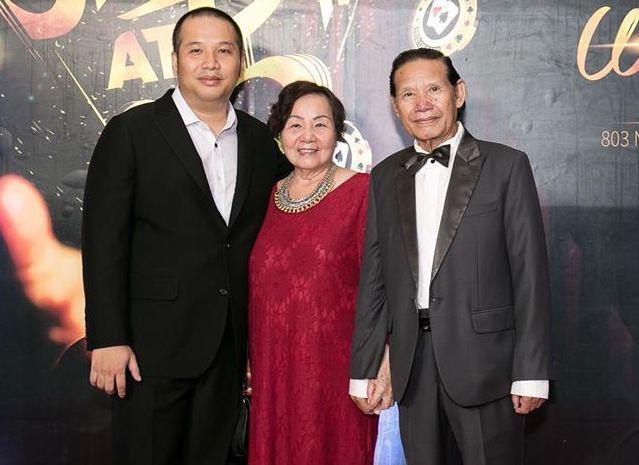 Nghệ sĩ chia buồn khi biết cha của đạo diễn Quang Huy qua đời-1