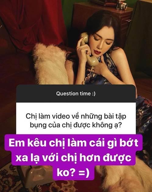 Xin Elly Trần chia sẻ bài tập bụng sau sinh, cô gái liền bị từ chối-2