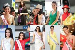Bản tin Hoa hậu Hoàn vũ 18/4: Thùy Lâm và H'Hen Niê nổi bật nhất với thời trang lên đường