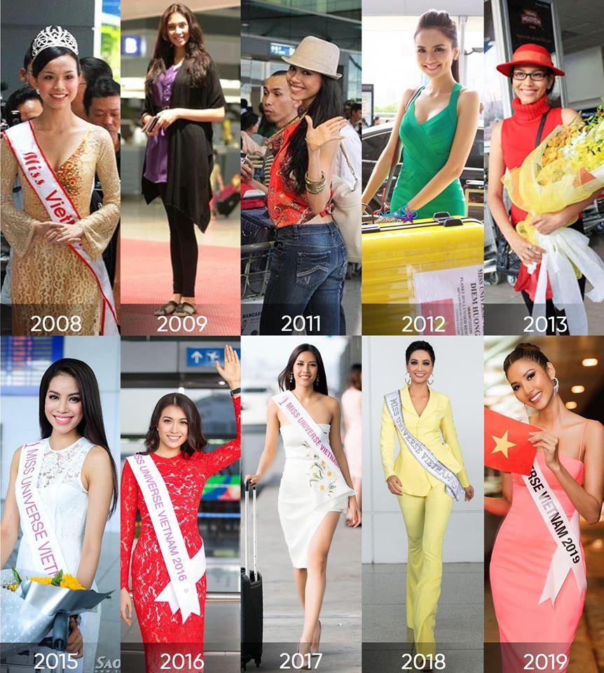 Bản tin Hoa hậu Hoàn vũ 18/4: Thùy Lâm và HHen Niê nổi bật nhất với thời trang lên đường-1