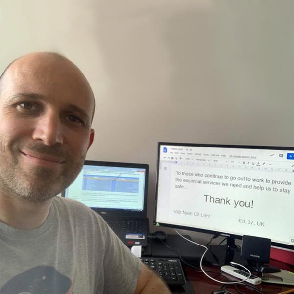 Người nước ngoài đồng loạt nhắn 'Cảm ơn Việt Nam' giữa mùa dịch-7