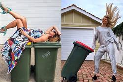 Trào lưu 'lên đồ', ăn mặc lồng lộn chỉ để đi đổ rác giữa dịch Covid-19