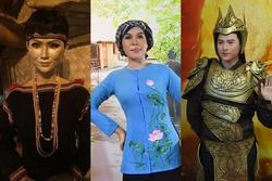 Hết hồn tượng sáp của sao Việt: Việt Hương y chang Long Nhật, Isaac giống hệt Lâm Vỹ Dạ