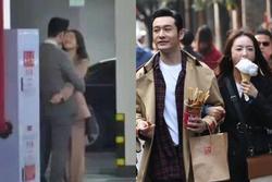 Lộ cảnh Huỳnh Hiểu Minh hôn môi 'tình trẻ' Thái Văn Tịnh, Angelababy lại bị gọi tên