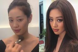 Bản tin Hoa hậu Hoàn vũ 20/4: Gương mặt Khánh Vân có gì nổi bật khi không son phấn?