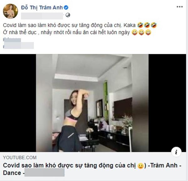 Hot girl Trâm Anh khoe clip nhảy sexy - Anh 1