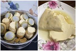 Trổ tài bếp đảm mà sản phẩm nhìn tưởng trứng hấp, tào phớ... hóa ra là caramen 'sùi bọt mép'
