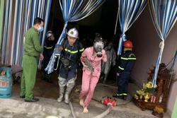 Hà Nội: Cảnh sát cứu 4 người thoát chết trong vụ cháy nhà nghỉ lúc rạng sáng