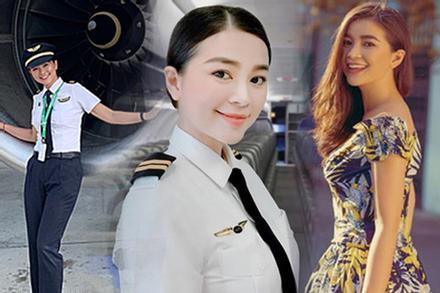 Diệu Thúy: Diễn viên xinh đẹp lấy chồng Tây, bỏ showbiz làm phi công