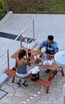 Nhóm thanh niên Singapore tụ tập, quay clip: Càng cấm càng ra đường-2