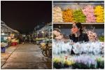 Đi chợ hoa đêm lớn nhất miền Bắc sau khi hết cách ly xã hội
