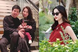 Hoa hậu Đặng Thu Thảo xác nhận mang thai lần 2, dự sinh quý tử vào tháng 5
