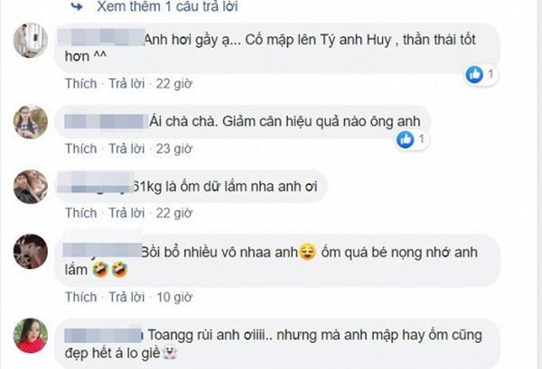 Sụt hơn 10 kg, Ngô Kiến Huy khiến fans lo lắng vì quá gầy-10