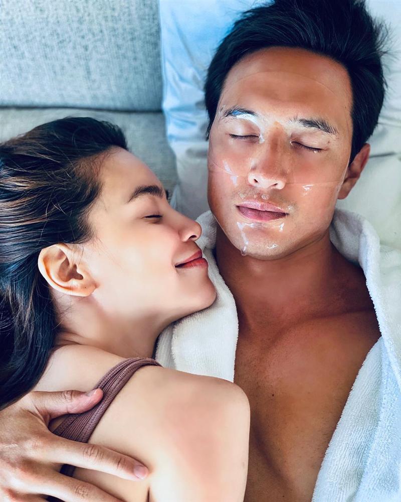 Hồ Ngọc Hà chăm chỉ làm đẹp cho cả người tình Kim Lý-2