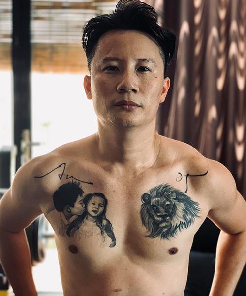 Hình xăm bạn đời, con cái của sao Việt-5