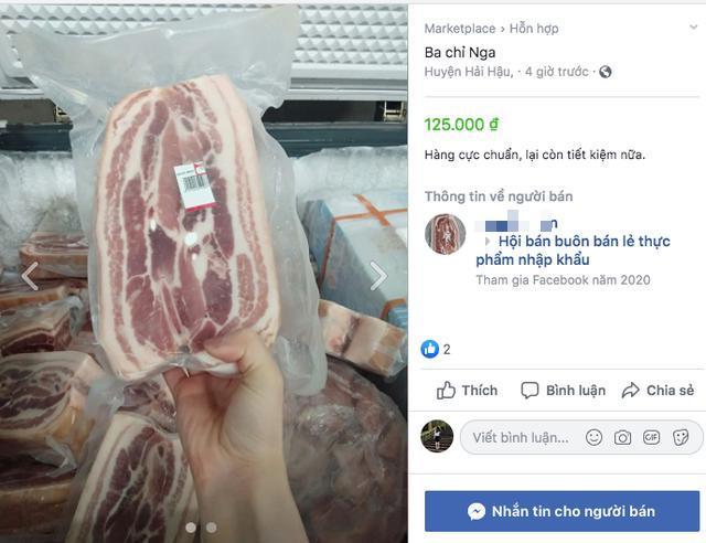 Thịt lợn trong nước đắt đỏ, thịt lợn nhập ngoại loạn giá trên MXH, người dân hoang mang-3
