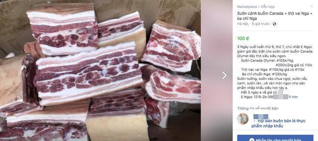 Thịt lợn trong nước đắt đỏ, thịt lợn nhập ngoại loạn giá trên MXH, người dân hoang mang-4
