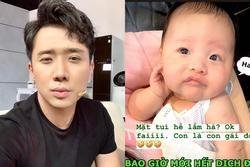 Mới 2 tháng tuổi đã có gương mặt giải trí cao, cháu gái Trấn Thành chiếm sóng MXH