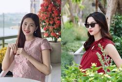 2 lần mang thai vượt mặt, hoa hậu Đặng Thu Thảo sở hữu nhan sắc xuất sắc vạn mẹ bầu mê