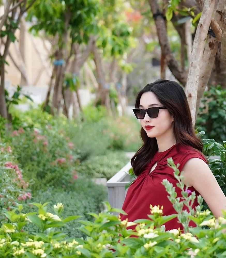2 lần mang thai vượt mặt, hoa hậu Đặng Thu Thảo sở hữu nhan sắc xuất sắc vạn mẹ bầu mê-3
