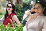 2 hoa hậu Đặng Thu Thảo mang thai cùng thời điểm, showbiz Việt còn gì vui hơn