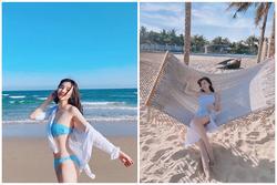 Cao Thái Hà 'bốc lửa' khi diện bikini sau scandal lộ ảnh hút thuốc lá