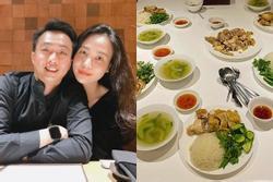 Đàm Thu Trang vun vén tổ ấm với Cường Đô La