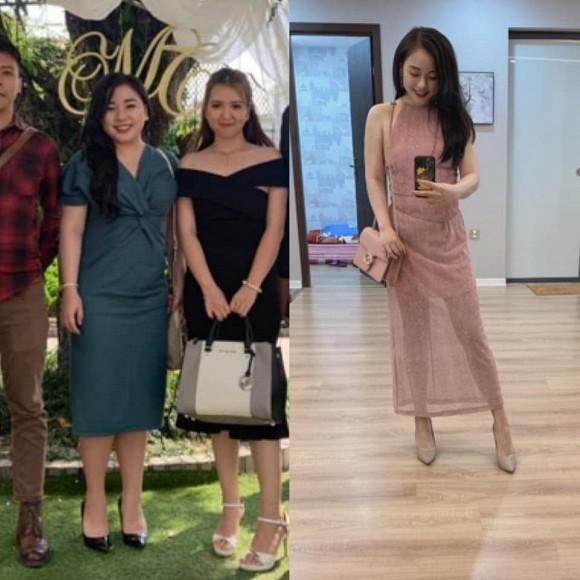 Em họ Hoa hậu Mai Phương Thúy: Từng mập ú, giảm 25 kg trở thành mỹ nhân xinh như mộng-3