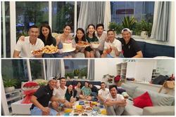 Nhóm bạn thân hội ngộ trong sinh nhật Thân Thúy Hà