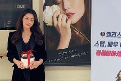 U50 Kim Hee Sun gây ngỡ ngàng với nhan sắc 'lão hóa ngược'