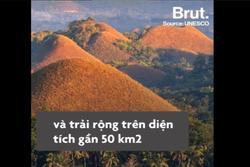 Ngọn đồi chocolate hút khách du lịch ở Philippines