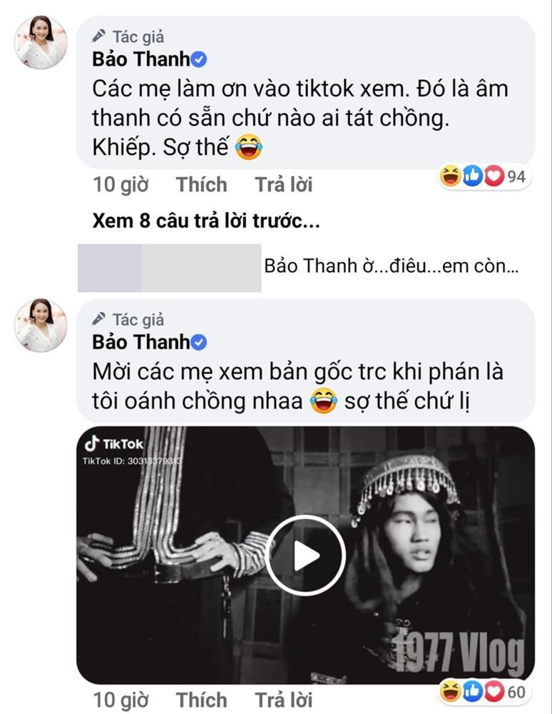 Bảo Thanh bị dân mạng la ó về clip tát chồng bôm bốp-1