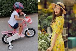 Tăng Thanh Hà khoe ái nữ 3 tuổi, dân mạng thích thú với gương mặt lém lỉnh