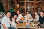 Tăng Thanh Hà dự sinh nhật con trai Trà My Idol, nhan sắc 'ngọc nữ' gây chú ý còn hơn quý tử