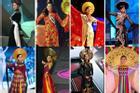 Bản tin Hoa hậu Hoàn vũ 30/4: Chưa ai mặc áo dài đẹp hơn Trương Thị May