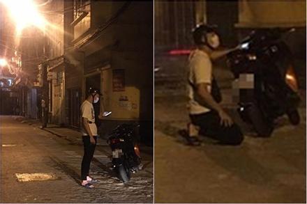 Chàng trai đi xe SH quỳ gối trước nhà bạn gái từ sáng tới tối để xin lỗi mà vẫn thất bại