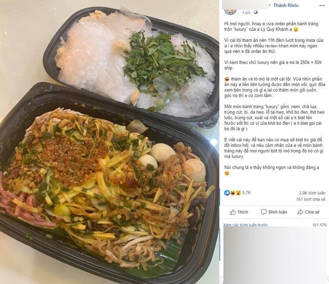 Đâu chỉ Lý Quí Khánh, nhiều sao Việt cũng bị chê bán đồ ăn giá đắt cắt cổ-1