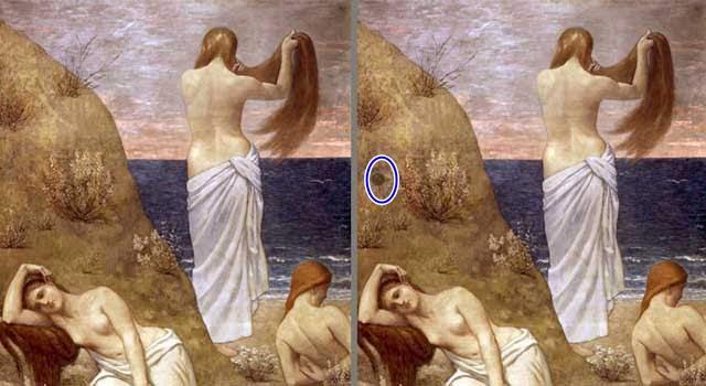 Chỉ có THIÊN TÀI mới tìm ra được hết những điểm khác biệt trong 5 bức tranh-7