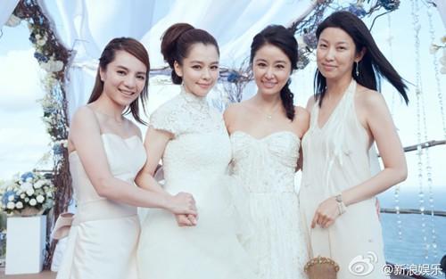 Hình ảnh chưa từng được tiết lộ trong đám cưới của Lâm Tâm Như-5