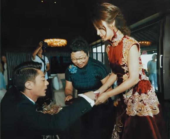 Hình ảnh chưa từng được tiết lộ trong đám cưới của Lâm Tâm Như-3