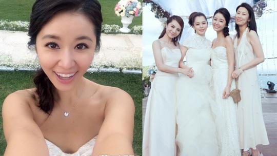 Hình ảnh chưa từng được tiết lộ trong đám cưới của Lâm Tâm Như-6