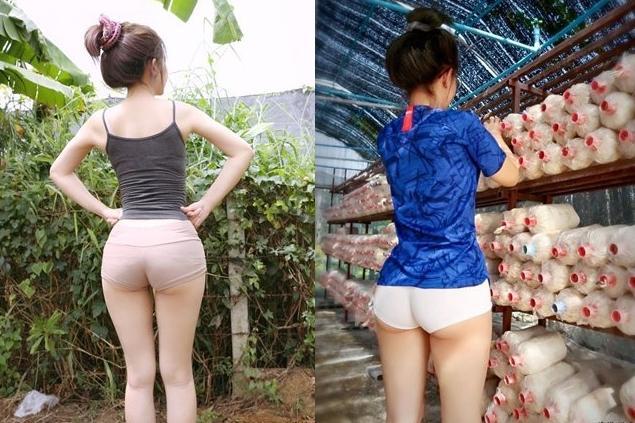 Mặc quần hở toang hoác, cô gái khiến ai nhìn cũng ngán ngẩm kiểu thời trang phang hoàn cảnh-1