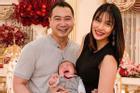 Lan Khuê vỡ òa hạnh phúc khi con trai 6 tháng tuổi bập bẹ gọi 'Ba'