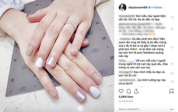 Phản ứng bất ngờ của Hoa hậu Kỳ Duyên khi tiệm nail tiếp tục bị phàn nàn chất lượng-4