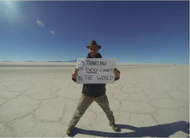 Ngưỡng mộ chàng trai đi vòng quanh thế giới mà không hề bước chân lên máy bay-4