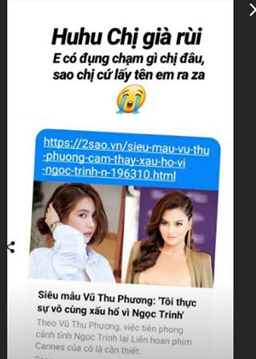 Đâu chỉ Ngân 98, nhiều mỹ nhân Việt cũng từng bị tiếng cà khịa Ngọc Trinh-3