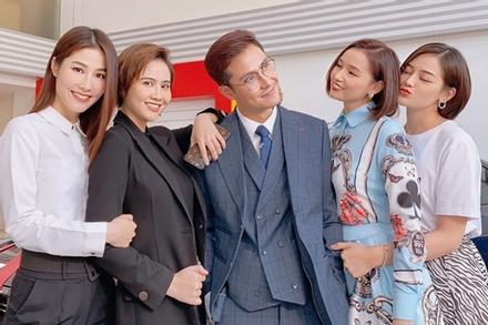 Sao Việt trở lại phim trường