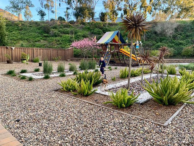 Khu vườn như công viên trong nhà Diệu Hương ở Mỹ-2