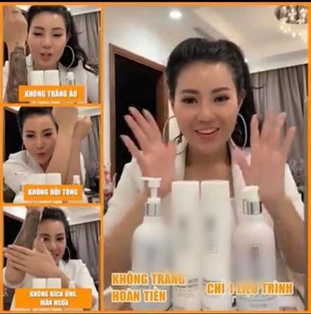 Lan Cave Thanh Hương bị đánh giá mất phẩm chất nghệ sĩ vì PR kem dưỡng da, thuốc giảm cân sai cách-5