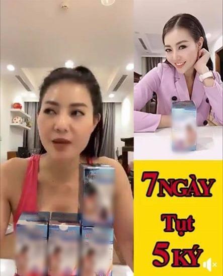 Lan Cave Thanh Hương bị đánh giá mất phẩm chất nghệ sĩ vì PR kem dưỡng da, thuốc giảm cân sai cách-7